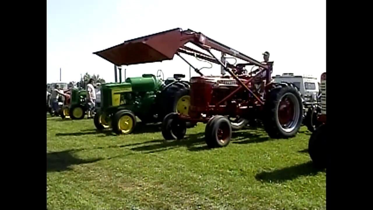 Antique Tractor Show  7-12-08