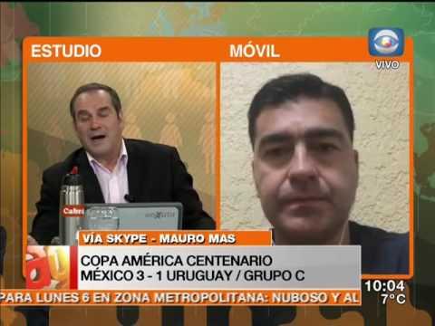 Deportes - Mauro Mas / Uruguay vs. México / Copa América Centenario