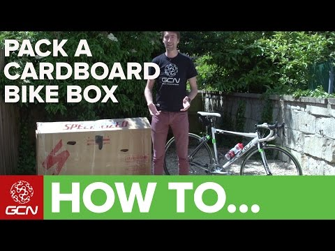 How To Pack A Cardboard Bike Box