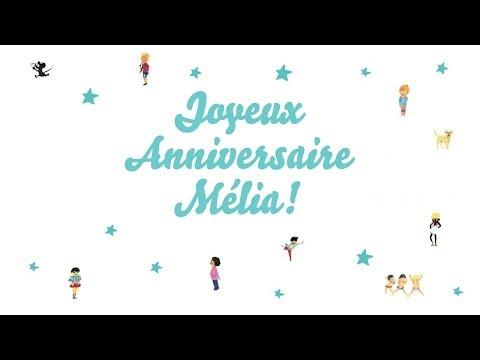 joyeux anniversaire mlia youtube