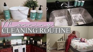 MORNING CLEANING ROUTINE 2018 | SAHM CLEAN WITH ME | Extreme Cleaning Motivation
