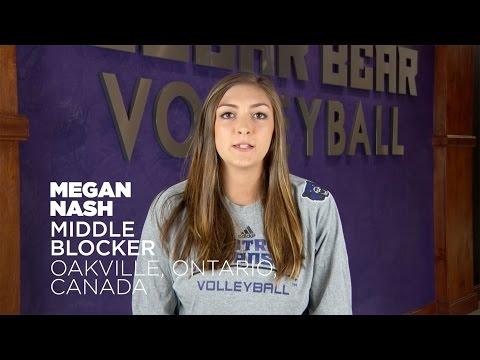 Volleyball: Meet Megan Nash