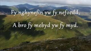 Adra - Gwyneth Glyn (geiriau / lyrics)