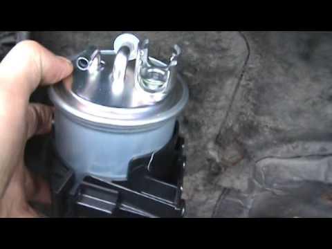 Перенос топливного фильтра на VW-T4