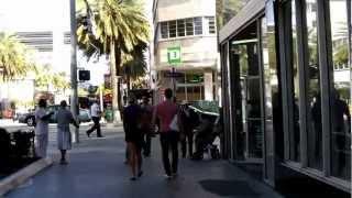 Lincoln Road Mall Tour - South Beach, FL (HD)