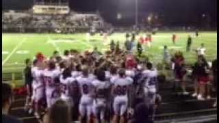 Hinsdale Central Football Sings Alma Mater Thumbnail
