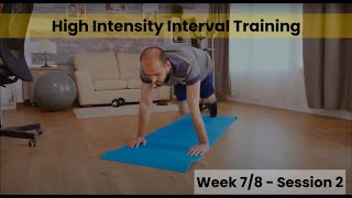 HIIT - Week 7&8 Session 2 (mHealth)