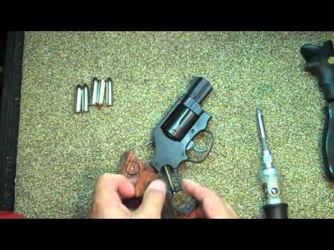 Rosewood Grips for my J Frame Revolver by FirearmPop