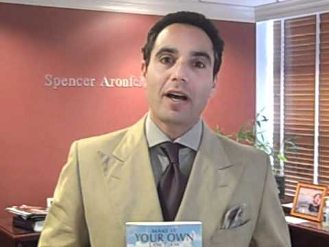 Spencer Aronfeld, the author of Make It Your Own Law Firm the Ultimate Law Students Guide to Making, Managing and Marketing Your Own Law Firm discusses his career and book.