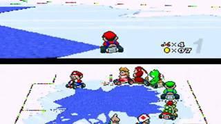 Super Mario Kart Playthrough - Special Cup: Vanilla Lake 2
