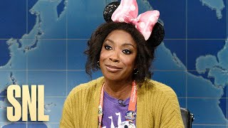 Weekend Update: A Weary Mother in Her Darkest Hour on Disney's Reopening - SNL
