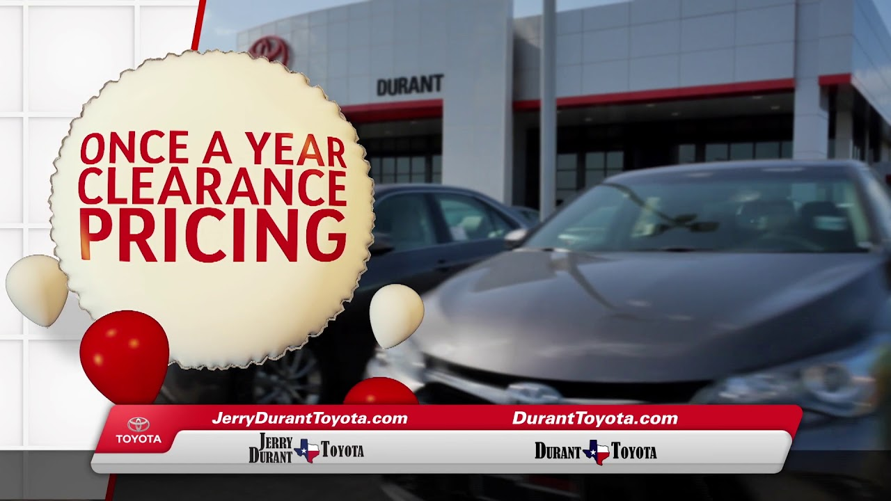 Jerry Durant Toyota >> Jerry Durant Toyota Best New Car Release 2020