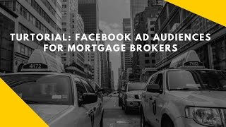 Facebook Ads For Mortgage Broker Local Advertising