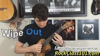 Wipe Out - The Surfaris: Ukulele Lesson