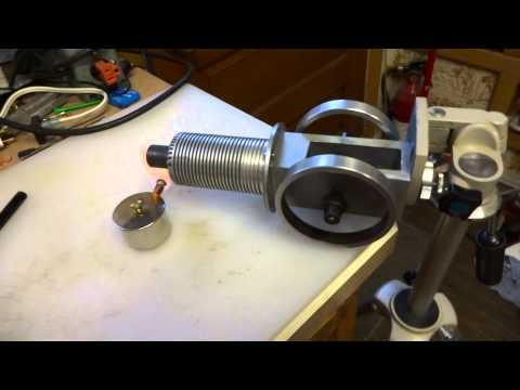 Solar Engine Stirling Engine