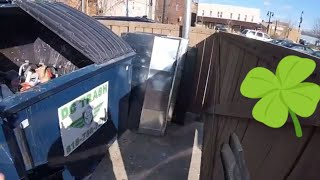 Saint Patrick's Day Dumpster Action - The Luck of the Irish