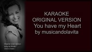 Umbrella - karaoke (You have my heart) - Rihanna