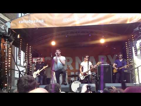 Kids In Glass Houses - Drive live @Carnaby Street 06.07.2013