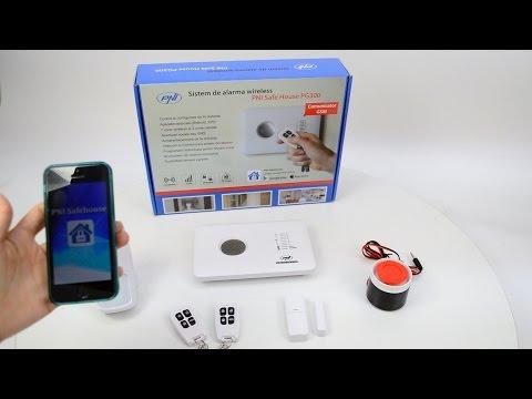 Sistem de alarma wireless PNI SafeHouse PG300 comunicator GSM 2G