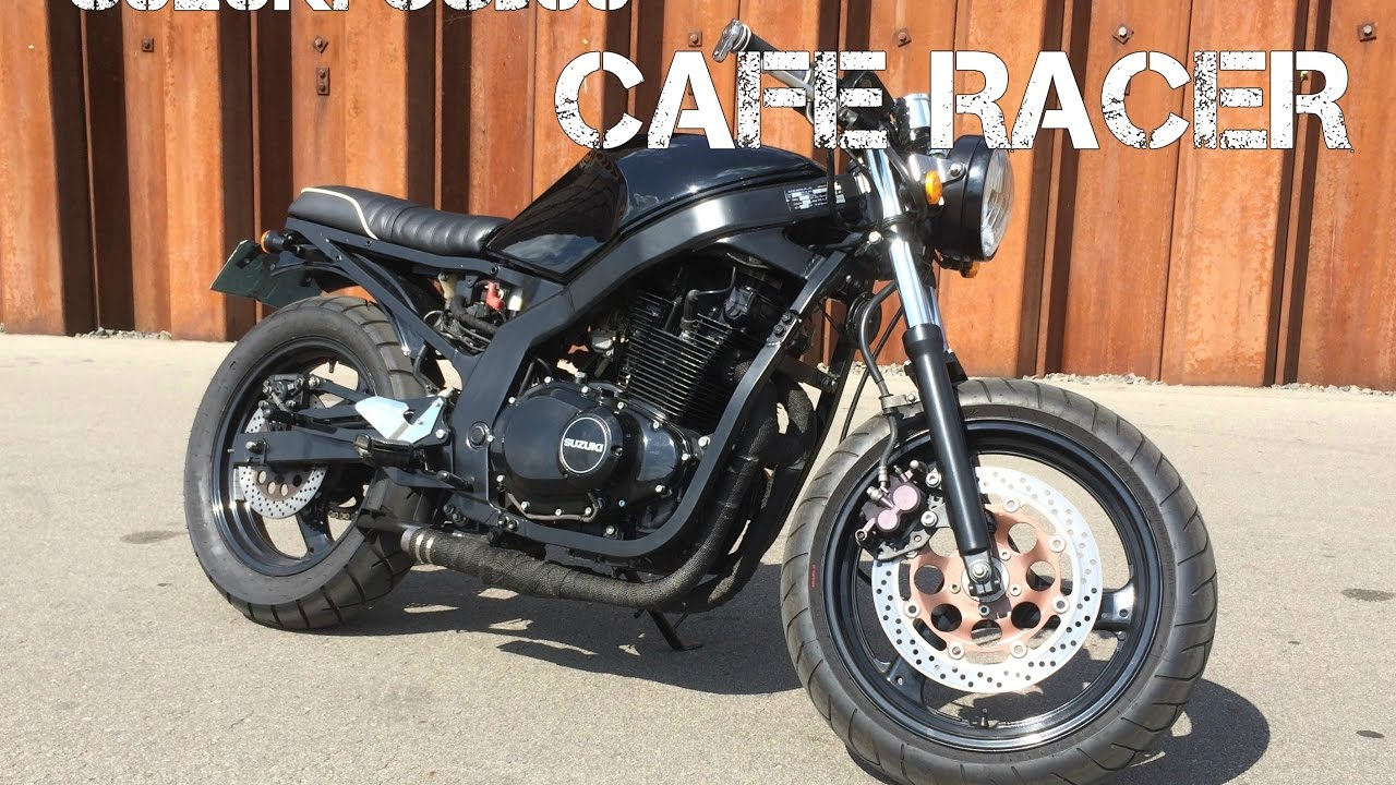 custom suzuki gs500 cafe racer 2 radvilagarage youtube. Black Bedroom Furniture Sets. Home Design Ideas