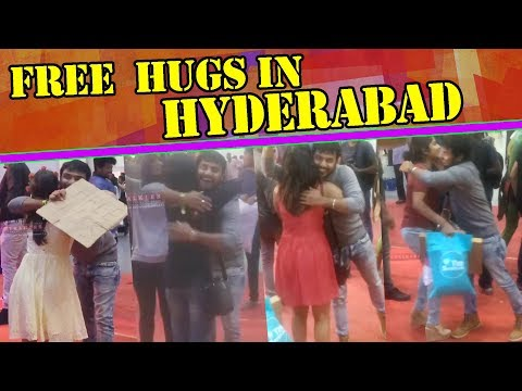 FREE HUGS Experiment In HYDERABAD | Pranks In Hyderabad | Latest Funny Videos | Ytalkies Exclusive