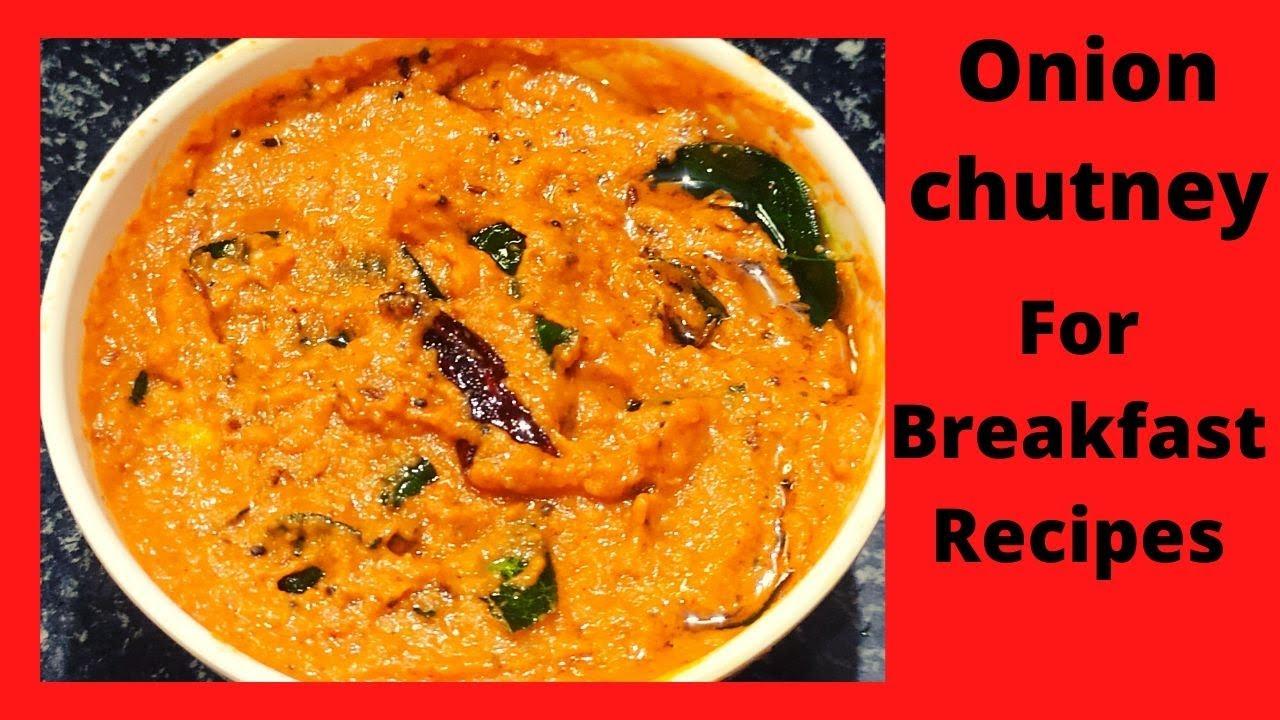 Onion chutney/Onion chutney in telugu/Onion chutney for idli/dosa/Rice/Ullipaya chutney/chutney