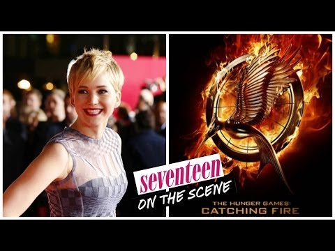 The Hunger Games Catching Fire Premiere - Seventeen on the Scene