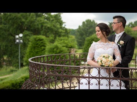 Nóra és Pisti esküvői felvételi az Archeoparkban (Polgár)