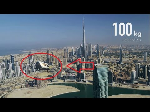 World's First Flying Car and Drone Taxi Operational in Dubai