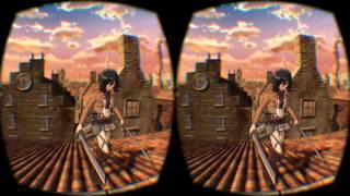 ▶ 巨人のデカさがヤバすぎる! 「進撃の巨人展」でOculus Riftをかぶってきた