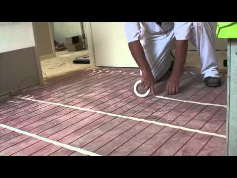 Warmfloor Nz Step 04 Cable Laying Youtube