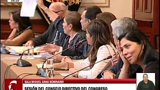Sesión del Consejo Directivo 1/2 (30/01/19)