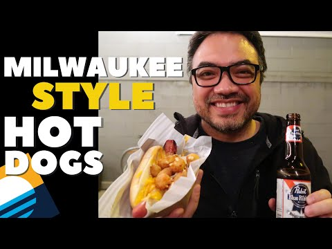 MILWAUKEE STYLE Hot Dogs At The Vanguard