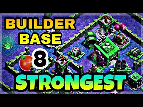 STRONGEST BUILDER HALL 8 BASE LAYOUT WITH REPLAY | BEST BH8 BASE IN COC | CLASH OF CLANS