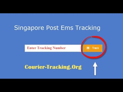 Singapore Post Ems Tracking Guide