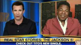 Johnny Gill talks Jackson 5 on Showbiz Tonight