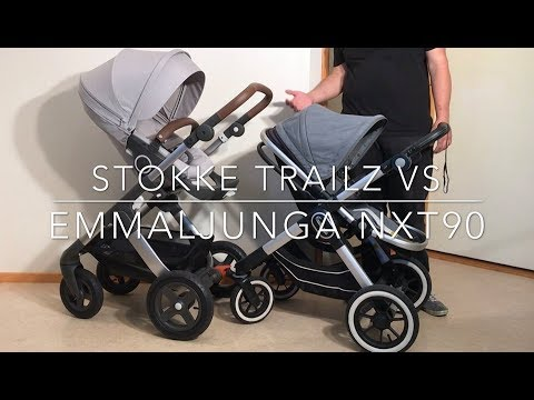 Stokke Trailz VS Emmaljunga NXT90: Mechanics, Comfort, Use