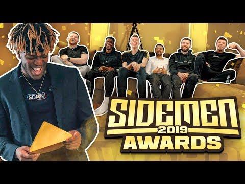 SIDEMEN YOUTUBE AWARDS 2019