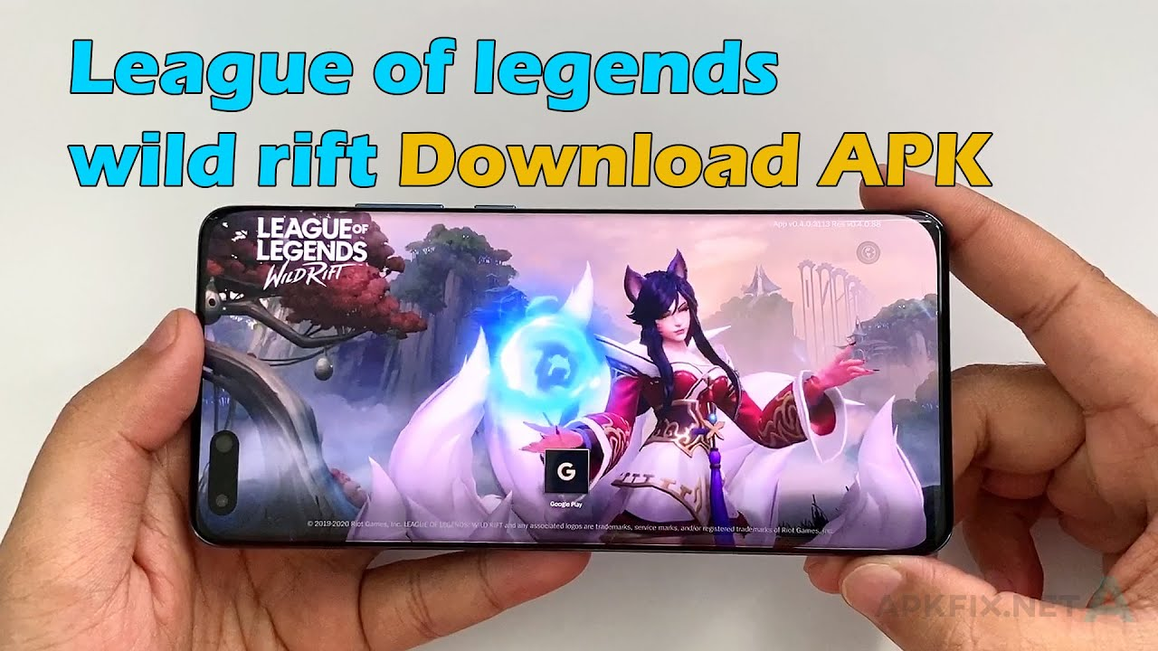 League of Legends Wild Rift beta download for many regions
