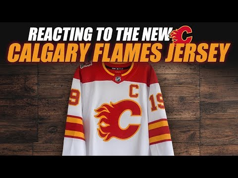Reacting To The New Calgary Flames Jersey
