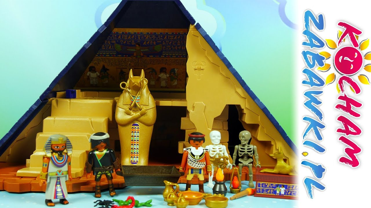 Playmobil History • Starożytny Egipt • Piramida faraona • Unboxing