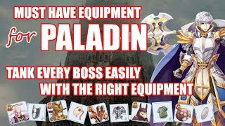 Ragnarok Mobile : Must Have Equipment to Tank Every Boss (for Paladin) by  Papa Victori