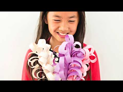 How To Make Giant DIY Hyacinth Paper Flowers