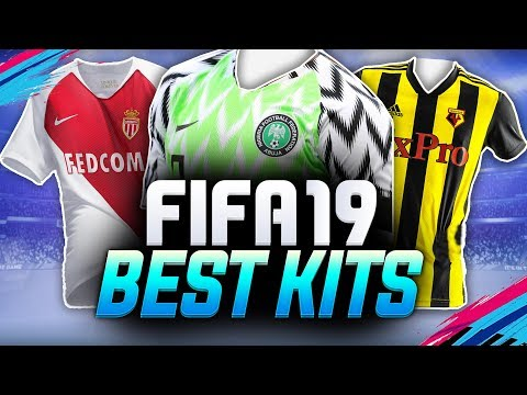 FIFA 19 BEST KITS!!