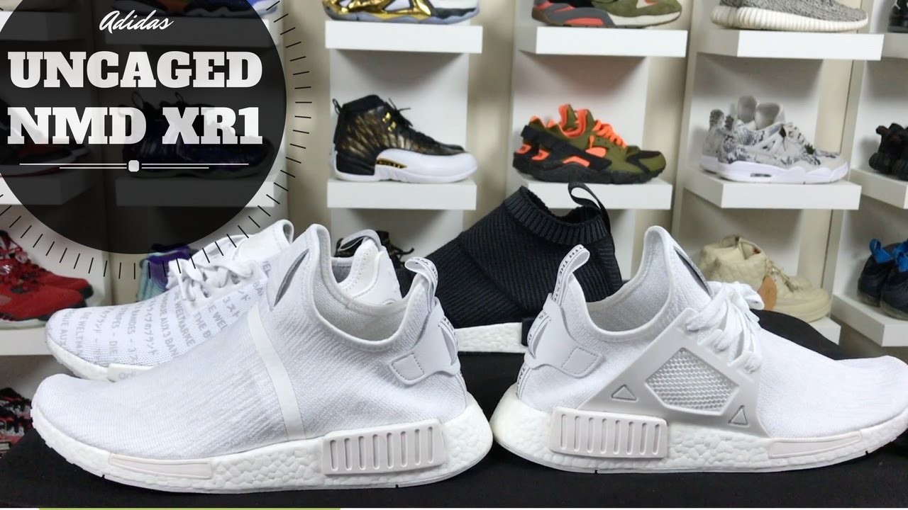 quality design a286c 39574 CUSTOM UNCAGED ADIDAS NMD XR1 TUTORIAL CAGE REMOVAL CS1
