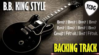 Video Blues Guitar Backing Track In The Style Of B.B.King | B Minor (Bm) TCDG download MP3, 3GP, MP4, WEBM, AVI, FLV Juli 2018