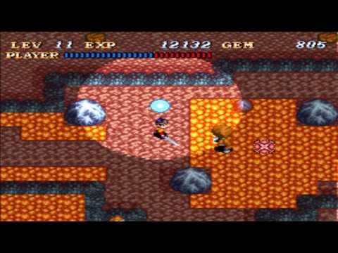 Let's Play Soul Blazer Part #8 - Volcanic Island