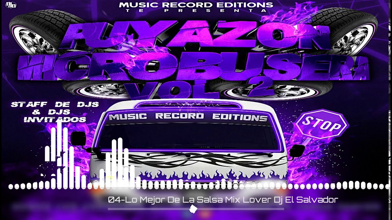 Lo Mejor De La Salsa Mix|Lover Dj Puyason Microbusera Vol2 Music Record Editions