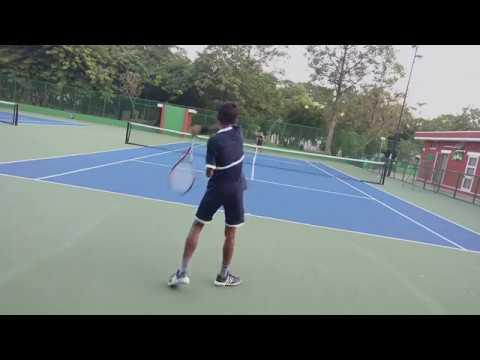 Tennis IITK (Warm Up)