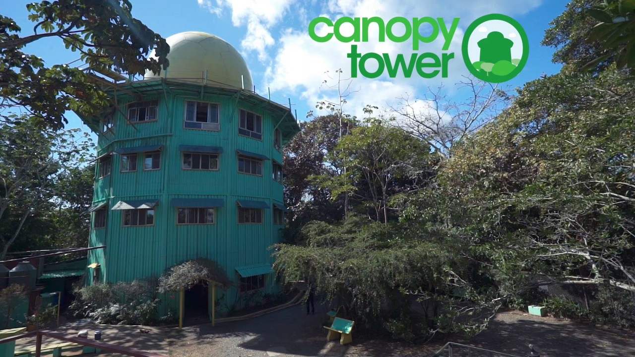 Canopy Tower Panama & Canopy Tower Panama - YouTube